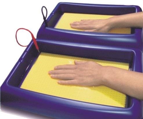 Tubos de tratamiento manos y pies hiperhidrosis